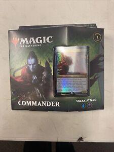 Sneak Attack Commander Deck Magic The Gathering Zendikar Rising MTG New Sealed