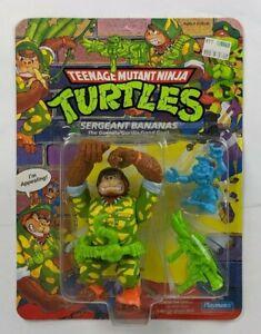 1991 Playmates Teenage Mutant Ninja Turtle TMNT Sergeant Bananas Carded MOC