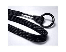 20 Black Lanyards With O-Ring - Very Nice Top Quality!