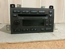 08 09 10 Lincoln Town Car Am Fm Sat Radio 6 Disc Cd Player Oem 9W1T-18C815-Ca