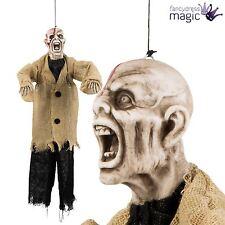 Hanging 50cm Zombie Demon Ghoul Halloween Shop Display Horror Decoration Prop