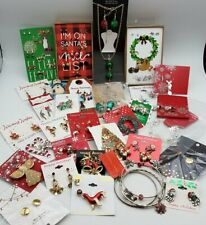 Christmas Lot of Jewelry MK329