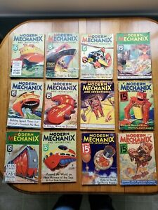 Modern Mechanics And Inventions lot
