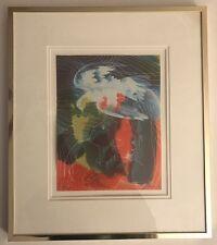 "Hans Erni ""World Communications Year"" Signed Art Graphic 490/1000"