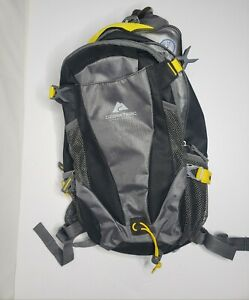 Ozark Trail Black/Gray/yellow  Hydration Compatible Day Pack / Backpack2 Liter