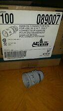 "Ipex Electrical 3/4""  Kwikon Connector KTA FOR USE WITH E.N.T. ONLY (100 CT)"