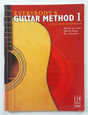 Everybody's Guitar Method 1-Music Instruction Book-2003