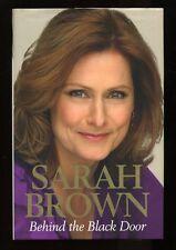 Sarah Brown & Gordon Brown - Behind the Black Door; DOUBLE SIGNED 1st/1st