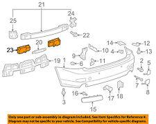 Lexus TOYOTA OEM 06-13 IS250 REAR BUMPER-Outer Reinforcement Right 5218753010