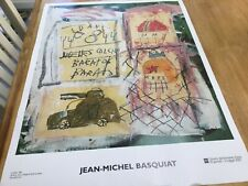 Untitled by Jean-Michel Basquiat Art Print 2002 Italian Museum Poster Good used