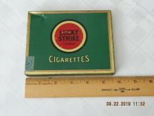 Vintage Lucky Strike Cigarette Tin Tobacco Box