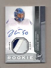 2012/13 UD The Cup JUSSI RYNNAS Rookie Patch Auto 217/249 RPA 3 Color Leafs