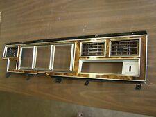 NOS OEM Ford 1980 Lincoln Mark VI Dash Bezel Lens Woodgrain