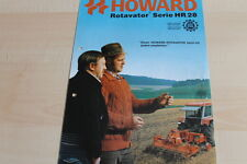 140494) Howard Rotavator Series HR 28 Brochure 199?