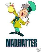 Alice Wonderland Madhatter T-shirt Iron on transfer 5x7