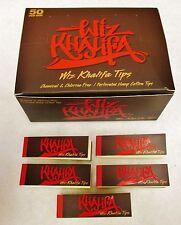 5X  NEW *WIZ KHALIFA TIPS 50 Tips Per Pack 250 Total Free Ship