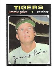 JIMMIE PRICE 1971 TOPPS #444 NRMT DETROIT TIGERS FREE COMBINED SHIPPING