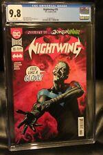 Nightwing #70 CGC 9.8 Mike Perkins Joker War Cover First Print DC Comics 2020