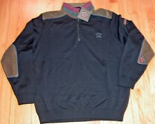 PAUL & SHARK YACHTING WOOL PULLOVER BLACK M