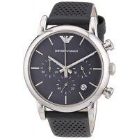 Orologio Emporio Armani da Uomo AR1735 in Acciaio Cinturino grigio Watch Uhr