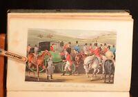 1837 Memoirs of the Life  John Mytton Nimrod Alken Rawlins Hand-Colour Plates