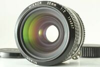 【EXC+5】NIKON NIKKOR Ai 35mm F/2 MF F Mount Wide Angle Lens by ✈FedEx✈ From JAPAN