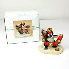 Charming Tails Jingle Bells Skunk Figurine Stewart Silvestri Dean Griff 87513