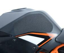 R&G BLACK 'EAZI-GRIP' FUEL TANK TRACTION GRIPS for KTM RC390, 2014 to 2017