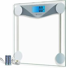 Etekcity Digital Body Weight Bathroom Scale with Body Tape Measure,400 Pounds.