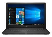 Brand new Dell 15.6'' FHD Touch Display,i3-7130U/8GB RAM/128GB SSD/Win10-Black