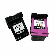 Tintas compatible 650XL NEGRO TRICOLOR Deskjet Ink Advantage 2645 3515 3545 4515