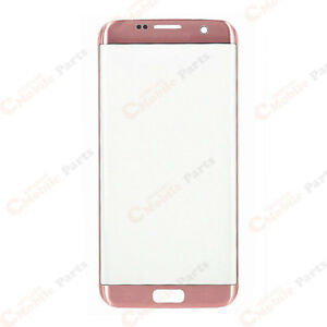 Galaxy S7 Edge Front Lens Screen Glass (G935) - Pink Gold