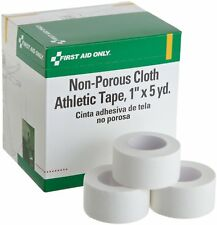 "First Aid Only H638 1""x5 yd. Cloth Athletic First Aid Tape, 10/box"