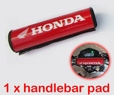 Honda Handlebar Pad Red Motorcycle Crossbar Motocross Racing Dirt Bike Moto Bars