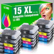 15 Druckerpatronen für Brother LC985 MFC-J 415 W