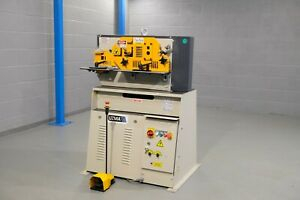 new UZMA 40  ton hydraulic steelworker 4 station vat included