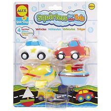 Alex Rub a Dub Transportation Squirters for the Tub bath toy