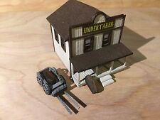 N Scale Old West Undertaker's Parlor Kit
