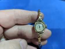 Vintage Hamilton 761 22 jewels Women's Watch 14K Solid Gold Case