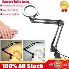 Hobby Reading Light Desk Table Lamp Swing Arm Home Office Bedroom Bedside Study