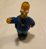 Homer Simpson figure/toy Gemmy Industries Corp 2002 , 20th Century Fox