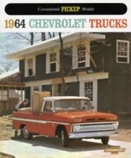 CHEVROLET 1964 Truck Sales Brochure 64 Chevy Pick Up