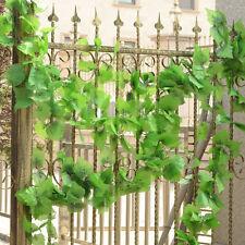 5X Hanging 2.2M Artificial Ivy Vine Fake Foliage Flower Leaf Garland Plant LJ