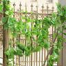 5X Hängen 2,2 Mt Künstliche Ivy Vine Laub Blume Blatt Girlande Pflanze
