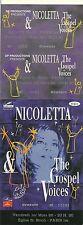 RARE / TICKET BILLET CONCERT - NICOLETTA LIVE A PARIS 1 MARS 1996 /COMME NEUF