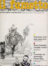 IL FUMETTO rivista ANAF N.1/1985 angoletta deadman lee falk jacovitti magnus