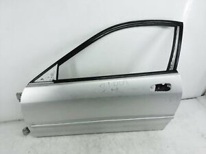1998 1999 2000 2001 Acura Integra 2Dr Driver Door Shell Only Silver