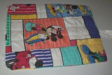 Vintage Mickey Mouse Cool Mickey Pillowcase 1980s Color Block Disney Sunglasses