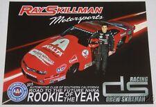 2016 Drew Skillman Axalta Chevy Camaro Pro Stock Nhra postcard