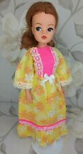 PEDIGREE 1973 SINDY DOLL 'LOUNGER' OUTFIT (REF S124) + SHOES (NO DOLL)